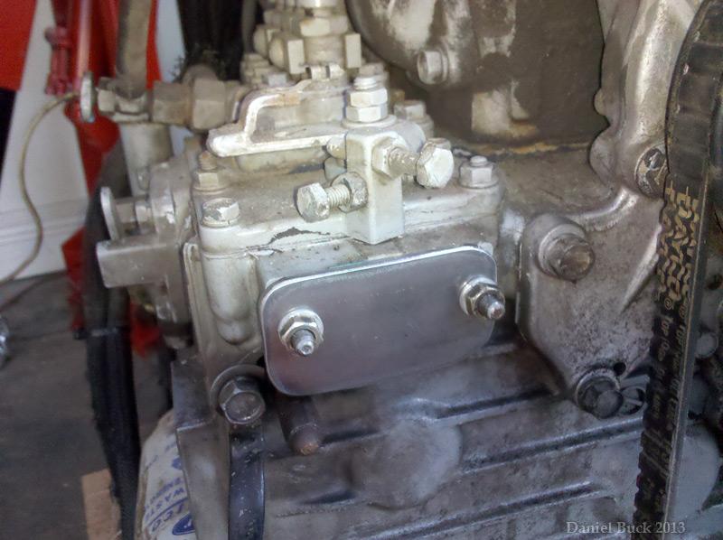 Kubota Turbo V2203 into 1946 Willys CJ2a
